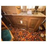 "Dining Room Cabinet 50""L x 18""W x 31""H"