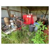 Commercial Air Compressor w/John Deere Diesel