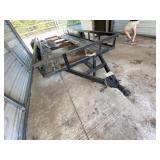 Bumper Pull 16ft 2-axle Trailer*Needs New Floor*