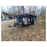 2016 Bumper Pull Big Tex 14LX Dump Trailer