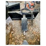 Prime Attachments Skid Steer Posthole Digger