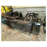 """Prime Attachments Skid Steer Grapple Bucket 68"""""""