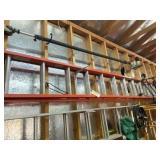Werner Fiberglass Extension Ladder 24