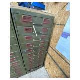 Metal 12-drawer Tool Supply Cabinet