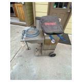 Bayon Classic 2-basket Deep Fryer on Cart