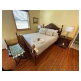 Queen Size Bed frame w/headboard footboard