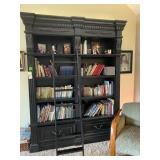 """Bookshelf w/ladder 69""""L x 14""""W x 94""""H"""