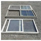 3 Vinyl Windows