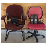 Office Chairs/ Speaker