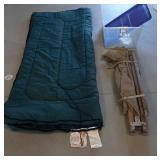 Cot/ Sleeping Bag