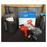 Wine Opener/Juicer/Blow Dryer