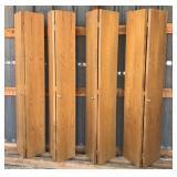 2 Sets of Closet Bi-Fold Doors