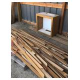 Wood Trim/Small Cabinet