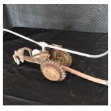 Vintage Lawn Tractor Sprinkler