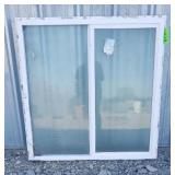 1 Frosted Glass Window