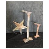 Boot Stands, Metal Star