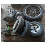 Variety of Small Tires