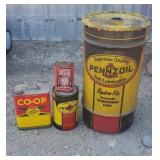 Penzoil/ Collectable Oil Cans