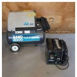Air Compressor and Welder