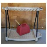 Suncast Stand/ Gas Container