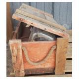 Wood Box w/ Contents