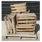 10 Wood Crates