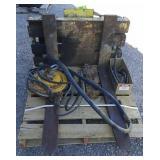 Forklift forks w/ Hoses