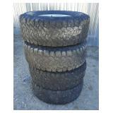 4-- BFGoodrich Tires w/ Rims
