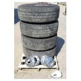 """4-- 18"""" Tires for a Ford 3/4 Ton"""