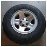 Jeep Tire w/ Rim