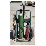O2 /Acetylene Torch Cart