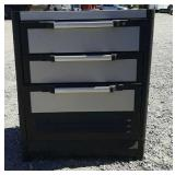 Plastic Storage Drawers w/ Paint Supplies