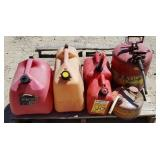 6-- Fuel Cans