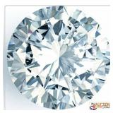 Crystal Clear Round 10X10mm White Sapphire