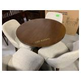 Kitchen Table w/4 Swivel Chairs