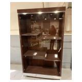 Curio Cabinet w/Glass Doors