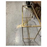 Side Table, Gold