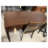 Desk & Chair, Brown