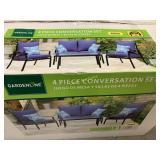 4 pc Conversation Set