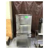Market forge convection steam cooker, missing