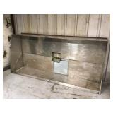 9 foot stainless vent hood