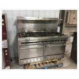 Sunfire gas 10 burner double oven