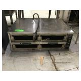 Duke electric cooker with no drawers
