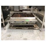 Vulcan IRX 36 inch wide table top char grill