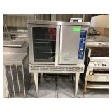 Imperial gas fired convection oven on legs