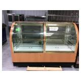 6 foot Two sided waterfall display case one side