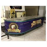 134 inch service counter on wheels