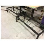 Two wine glass racks in fair condition