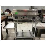 Holman QT 14 conveyor oven with stand