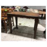 "36"" x 54"" wood pub table"